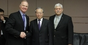 The University of North Dakota and Japan's Tokai University this week inked a four year extension to a successful collaboration that the two schools launched eight years ago.